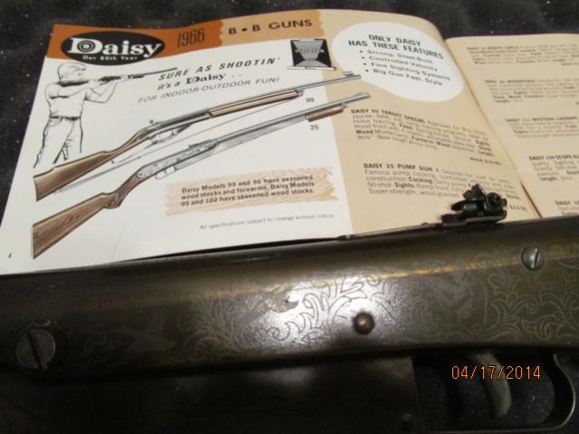 Daisy BB gun collection